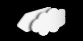 PVC-Hartschaum Wunschform, unbedruckt